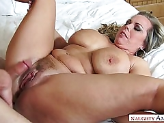 MEGA BUSTY STEPMOM AMBER LYNN BACH IS FUCKED BY HORNY 19 YO STEPSON
